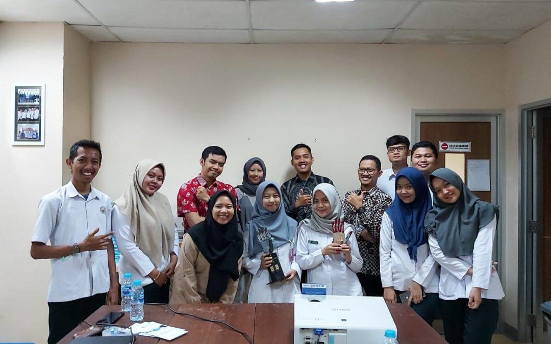 Uji coba kerja sama dengan RS Pendidikan UGM untuk penangangan tangan bionik di Yogyakarta
