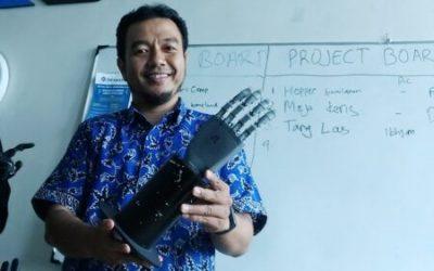 Inovasi PUI-PT CBIOM3S Undip, dari Tangan Bionik Hingga Robot Anti Covid